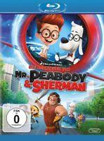 DIE ABENTEUER VON MR.PEABODY & SHERMAN -  RON MINKOFF  BLU-RAY NEU