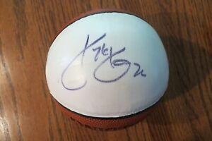 Kyle Korver Philadelphia 76'ers Autographed Mini Basketball
