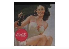 ♥ SERVIETTES EN PAPIER PAPER NAPKINS COCA COLA PIN UP B49 ♥