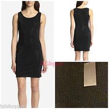NEW L SHERI BODELL Designer Sparkle CRYSTAL BEADED Little Black Dress Large $298