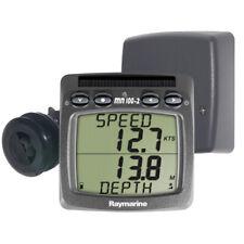 Sistema inalámbrico de velocidad y profundidad Raymarine con Triducer