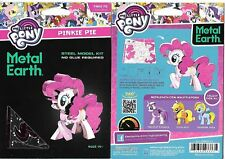 My Little Pony Pinkie Pie Figure Metal Earth 3D Laser Cut Steel Model Kit Sealed