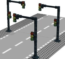 3 x AMPEL für Lego®  City Stadt Haus VERKEHRSAMPEL für Strassenplatten