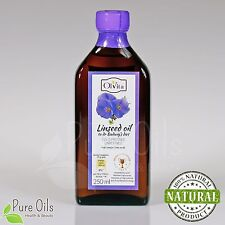 Linseed Flaxseed Oil Dr Budwig diet Cold Pressed Unrefined Ol'Vita Olej lniany