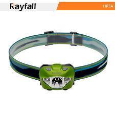 rayfall hp3a Linterna, impermeable, verde, 5 niveles de luz, Lámpara Cabeza 168