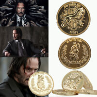 John Wick Continental Hotel Gold Coin Replica Costume Prop Gift High Quality Set
