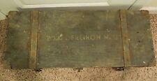 Vintage US WWII 20MM Oerlikon MKII Tool & Spare Parts Box
