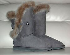 Australian Luxe Collective UGG Boots with Rabbit Fur RRP$ 540