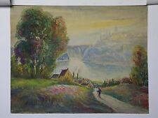 Jules GUIBOUD(1862-1933)Ecole de Murol Auvergne Victor Charreton impressionnisme