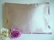100% silk pillowcase travel or toddler 12x16 Champagne by Feeling Pamepred
