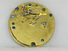 Watch Movement & Dial, Clean Me! Rare 41Mm Helical Freesprung Detent Chronometer