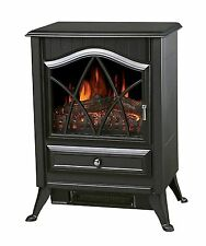 1850w Log Burning Flame Effect Stove Electric Fire Heater Fireplace Standing
