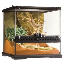 Exo Terra Mini Glas Terrarien, Wide oder Tall Reptilien Terrarium mit Rückwand