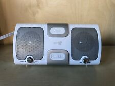 Compact Desktop White BT VOIP Speaker USB For Laptop PC