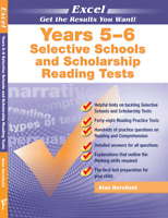 New Excel Selective & Scholarship Reading Comprehension Test Year 5-6 Workbook!