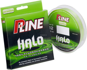 P-Line Halo Fluorocarbon Fishing Line 20 Lb 200 Yd Mist Green HF200-20