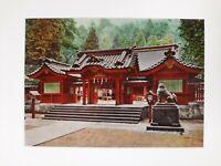 HAKONE SHRINE temple BUDDHIST 1960s Postcard JAPAN