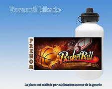 Gourde enfant Basket Ball personnalisée avec prénom