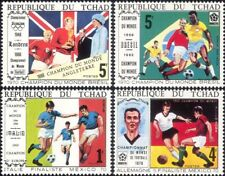 Chad 1970 Football World Cup Championships/WC/Soccer/Games/Sports 4v set (s110a)
