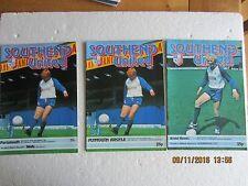FOOTBALL PROGRAMMES-SOUTHEND UTD-1981/82 SEASON