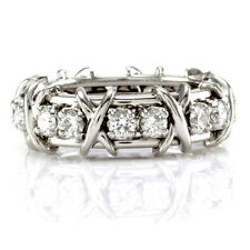 Tiffany & Co. Schlumberger Sixteen Stone Diamond Platinum Ring | FJ