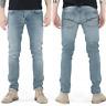 Nudie Herren Slim Fit Vintage Jeans | Grim Tim Navy Crisp |W32