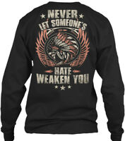 Native American Premium - Never Let Someone S Gildan Long Sleeve Tee T-Shirt