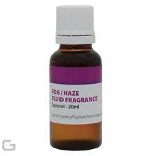 Smoke Haze Fog Machine Fluid Aroma Scent Fragrance 20ml Coconut Flavour