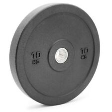 Bumper Weight Plates Black Olympic Size Rubber Crumb  5kg 10kg 15kg 20kg Gym