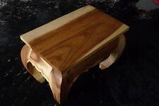Opiumtisch aus Holz, 56x35x40cm, Tisch, Couchtisch, Beistelltisch, Sofatisch