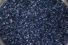 1118.02 ONE OUNCE MIDNIGHT BLUE BULLSEYE GLASS MEDIUM FRIT 90 COE FUSIBLE