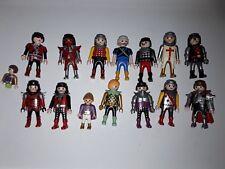Lot Playmobil personnage chevalier viking dragon moyen âge etc......