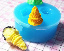 3D Ice Cream Mini Silicone Mold for Fondant, Gum Paste, Chocolate X061