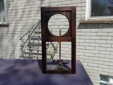 Becker Kienzle Junghans Oak Curved German Door Box Regulator Wall Clock