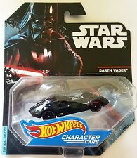 NEW HOT WHEELS CHARACTER CARS STAR WARS DARTH VADER