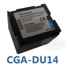 Battery Pack for Panasonic CGA-DU07/CGA-DU12/CGA-DU14 PV GS120 GS150 GS400 GS70