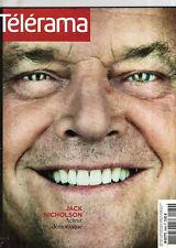 telerama  n°2969 jack nicholson mafiosa egypte aljazira