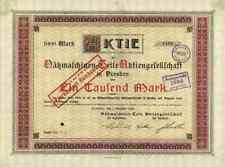 Nähmaschinen Teile AG 1918 Dresden Sachsen Nämatag Aachen Würker Knirsch 1000 M