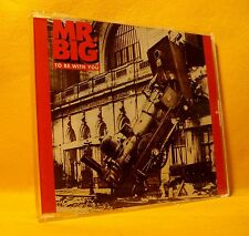 MAXI Single CD Mr. Big To Be With You 3TR 1991 Hard Pop Rock Ballad