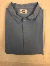 Best Textiles 413916 Unisex No Pocket Butcher Frock Light Blue 2Xl-Lot Of 2
