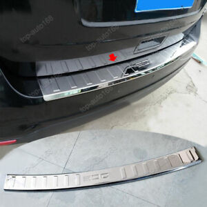 Stainless Rear Bumper Protector Guard Sill Plate Cover For Ford Edge 2007-2014