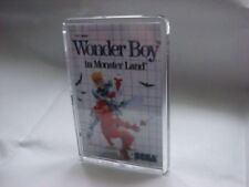 SEGA MASTER SYSTEM  GAME COVER FRIDGE MAGNET WONDER BOY IN MONSTER LAND