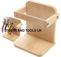 QUALITY WOODEN ORGANIZER WOOD STAND/ HOLDER PLIERS TWEEZERS JEWELLERY HOLDING