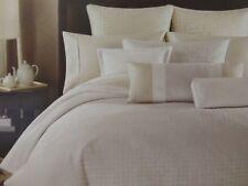 Barbara Barry Dream Beautiful Basic Patina Queen Duvet Cover $250 NIP