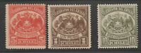 Chile TELEGRAPHS fiscal Revenue Cinderella stamps ma39 mint gum very LH