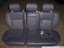 Mercedes W210 T Rücksitzbank Sitz blau Leder  452A