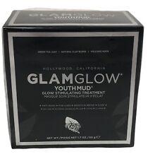 GLAMGLOW YouthMud Glow Stimulating Treatment 1.7 oz / 50 g - New In Box & Sealed