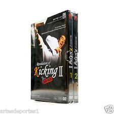 Mooto Revolution of Kicking II Air Flying Shadow Kick Taekwondo MMA Kicking DVDs