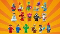 Lego Minifigures Series 18 Collectible 71021 Dragon Elephant Cat Racecar Cactus