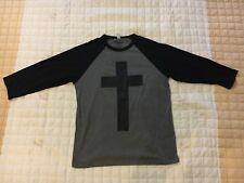 *BRAND NEW* Risen Apparel Jesus Cross Baseball T-Shirt *L*